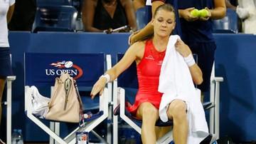 2015-09-05 US Open: Radwańska po raz pierwszy odpadła w III rundzie