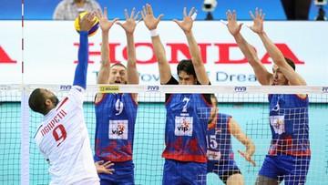 Liga Światowa: Serbia - Francja 2:3. Półfinały Final Six bez Polaków