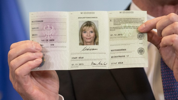 Rząd Niemiec wprowadza dowody osobiste dla imigrantów