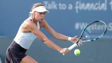 2017-08-16 WTA w Cincinnati: porażka Linette w pierwszej rundzie