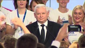 Kaczyński: To niezwykłe zwycięstwo i pierwsze w dziejach polskiej demokracji zwycięstwo jednej partii