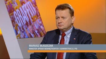 13-01-2017 09:18 Błaszczak chce, żeby Schetyna zapłacił za ochronę Sejmu. Prawie dwa i pół miliona złotych