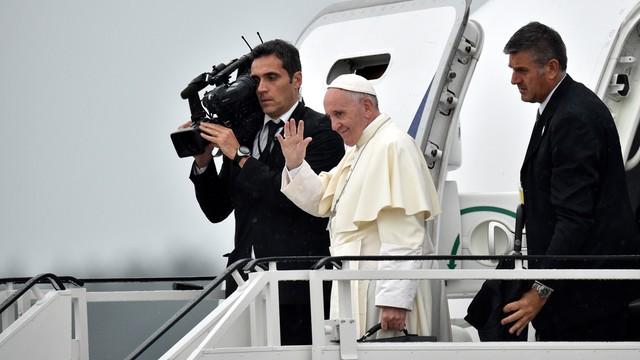 Papież Franciszek zakończył wizytę w Polsce