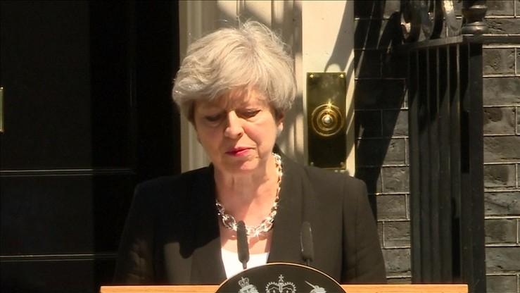 Premier May: atak terrorystyczny w Londynie był tchórzliwy