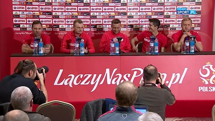 Konferencja reprezentacji Polski - 07.11