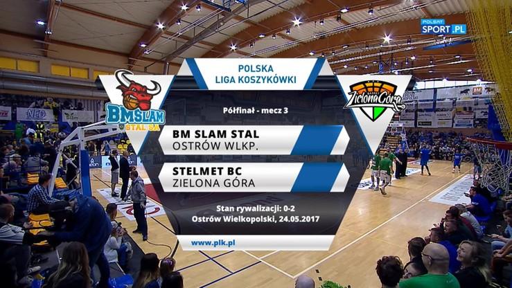 BM Slam Stal - Stelmet BC Zielona Góra 92:78. Skrót meczu