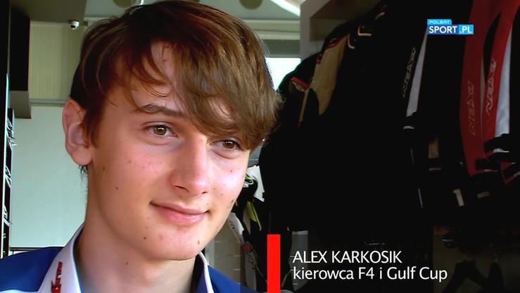 Karkosik: Moim marzeniem jest bycie mistrzem świata F1