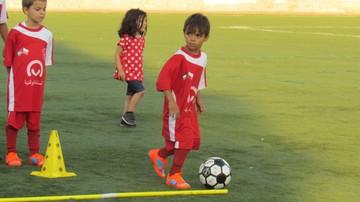 2017-07-31 Polska szkółka piłkarska w palestyńskim obozie dla uchodźców