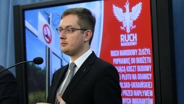 25-02-2016 13:49 Ruch Narodowy chce budowy muru przeciw uchodźcom na granicy polsko-ukraińskiej