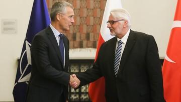 25-08-2017 08:18 W MSZ spotkanie szefa NATO z ministrami spraw zagranicznych Polski, Rumunii i Turcji