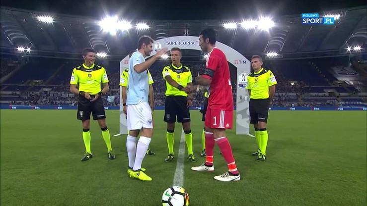 Superpuchar Włoch: Juventus - Lazio 2:3. Skrót meczu