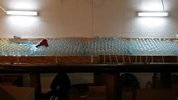 14-02-2017 09:58 7 tys. litrów spirytusu bez akcyzy. Zlikwidowano nielegalną rozlewnię alkoholu