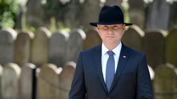"""04-07-2016 14:42 """"Nie ma usprawiedliwienia dla antysemickiej zbrodni"""". Prezydent o pogromie kieleckim"""