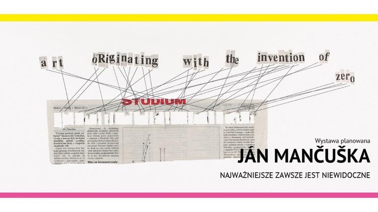 Retrospektywna wystawa Jana Mancuski w Muzeum Sztuki w Łodzi