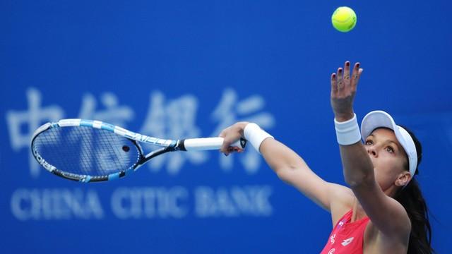 WTA w Pekinie: Radwańska awansowała do półfinału