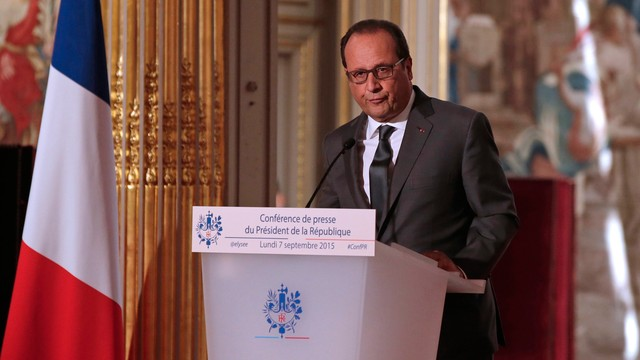 Hollande: będą francuskie naloty w Syrii