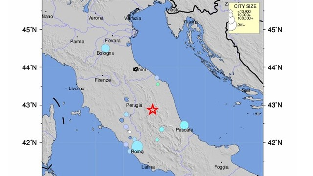 Trzęsienie ziemi we Włoszech. Nie ma informacji o ofiarach