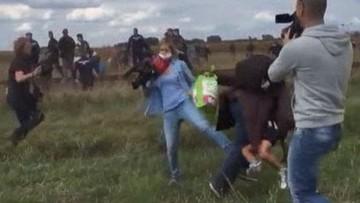 Węgierska dziennikarka, która kopnęła uchodźcę chce przenieść się do Rosji