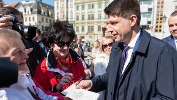"""08-04-2016 09:53 Petru stawia ultimatum Kaczyńskiemu ws. TK. """"Brak reakcji oznacza zerwanie rozmów"""""""