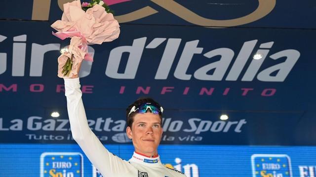 Giro d'Italia - Bob Jungels wygrał 15. etap, Dumoulin utrzymał prowadzenie