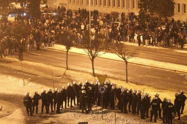 Jastrzębie-Zdrój: starcia górników z policją