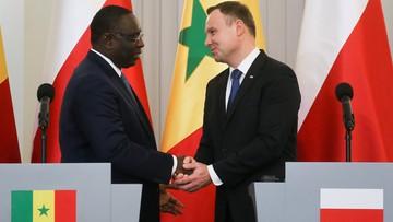 27-10-2016 17:30 Prezydent: Senegal to brama dla Polski do Afryki Zachodniej