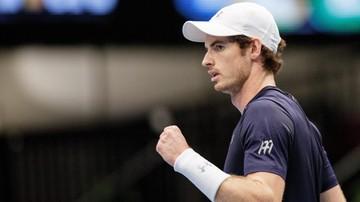 2016-10-28 Murray nie dał szans Isnerowi! Szkot w półfinale w Wiedniu