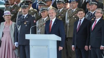 14-08-2016 22:24 Macierewicz: nie byłoby niepodległej Polski bez żołnierzy 1920 roku