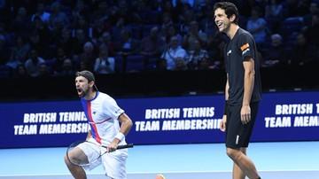 2017-11-18 ATP Finals: Kubot/Melo - Harrison/Venus. Transmisja w Polsacie Sport Extra