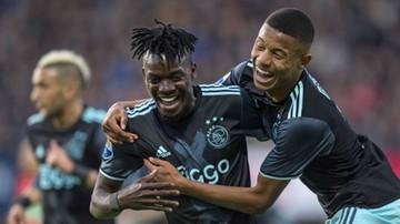 2017-04-08 Ajax Amsterdam rozbił NEC Nijmegen. Samobój Golli, piękny lob na otarcie łez (WIDEO)