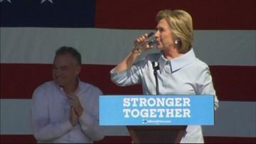 13-09-2016 20:58 Bill Clinton: Hillary jest zdrowsza od Trumpa