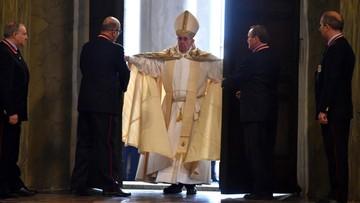08-12-2015 11:18 Papież otworzył Drzwi Święte w Watykanie inaugurując Rok Miłosierdzia