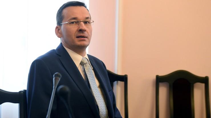 """Wicepremier Morawiecki planuje """"dwa duże uderzenia antybiurokratyczne"""""""