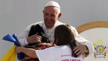 17-02-2016 05:21 Papież do młodzieży: nie oddawajcie życia w ręce handlarzy narkotykami
