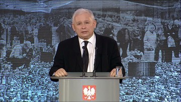 """""""Wielki ból, ośmielam się powiedzieć, tej lepszej części narodu"""". Kaczyński w rocznicę katastrofy smoleńskiej"""