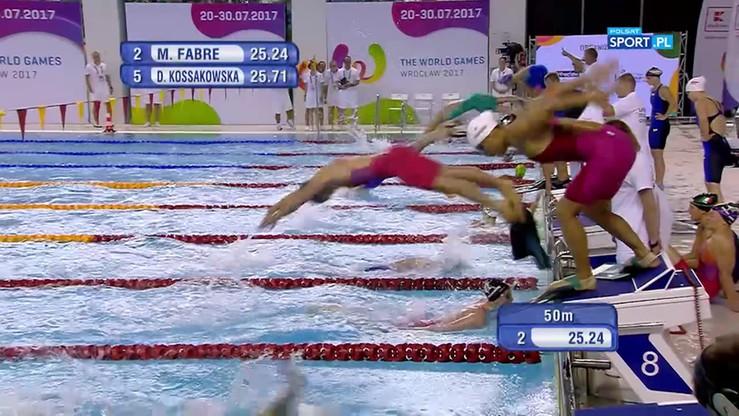 2017-07-22 Ratownictwo: Brąz polskiej sztafety 4x50m stylem zmiennym kobiet!