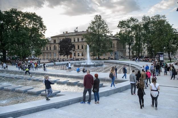 Plac Litewski po modernizacji