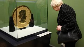 27-03-2017 14:15 100-kilogramowa złota moneta skradziona z berlińskiego muzeum