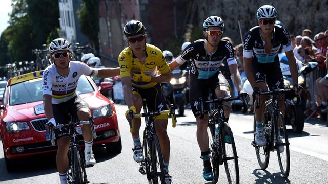 Lider Tour de France Tony Martin wycofał się z wyścigu