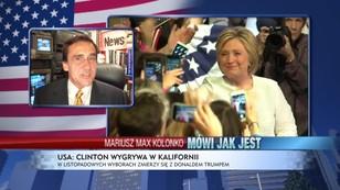 Jest kobietą i co z tego - Kolonko o przedwyborczym triumfie Hillary Clinton