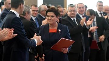 """""""13 mld zł dla polskich rodzin"""". Ministrowie podsumowują rok"""