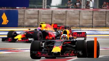 2017-09-15 Formuła 1: Ricciardo najszybszy na obu piątkowych treningach