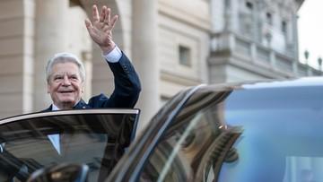 28-02-2017 22:31 Gauck domaga się uwolnienia przez Turcję niemieckiego dziennikarza