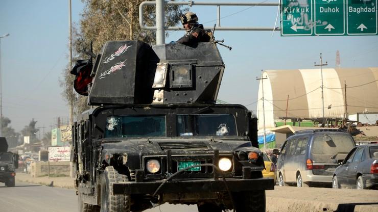 15 funkcjonariuszy straży granicznej zginęło w Iraku w zamachu Państwa Islamskiego