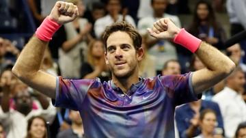 2017-09-07 US Open: Nie będzie półfinału Nadal - Federer! Del Potro pokrzyżował plany