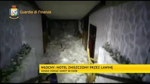 Włoscy ratownicy: hotel zmieciony przez lawinę
