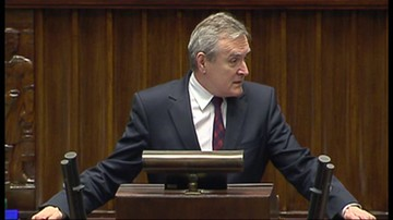 """2017-05-24 """"Problem został spowodowany decyzją prezydenta Opola"""". Minister Gliński w Sejmie"""