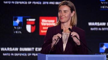 08-07-2016 19:51 Mogherini: ws. bezpieczeństwa możliwe szczególne partnerstwo UE z Londynem