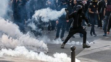 """21-09-2017 19:58 """"Macron, jesteś skończony"""". Demonstracje we Francji przeciwko reformie prawa pracy"""