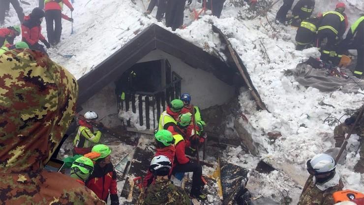 Ciało siódmej ofiary znalezione w gruzach hotelu we Włoszech